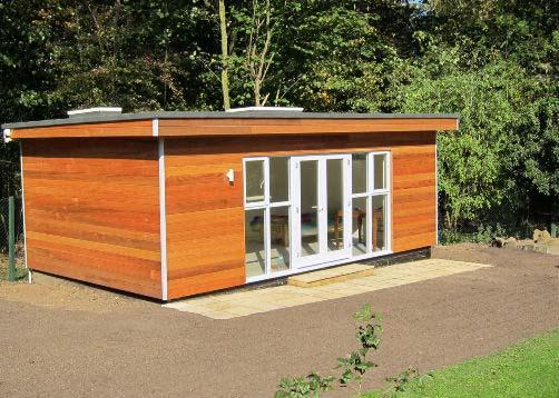 Garden Room with Shower, Toilet & Pump Station - Hertfordshire